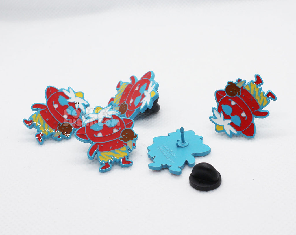 Summer Time Oni Enamel Pin