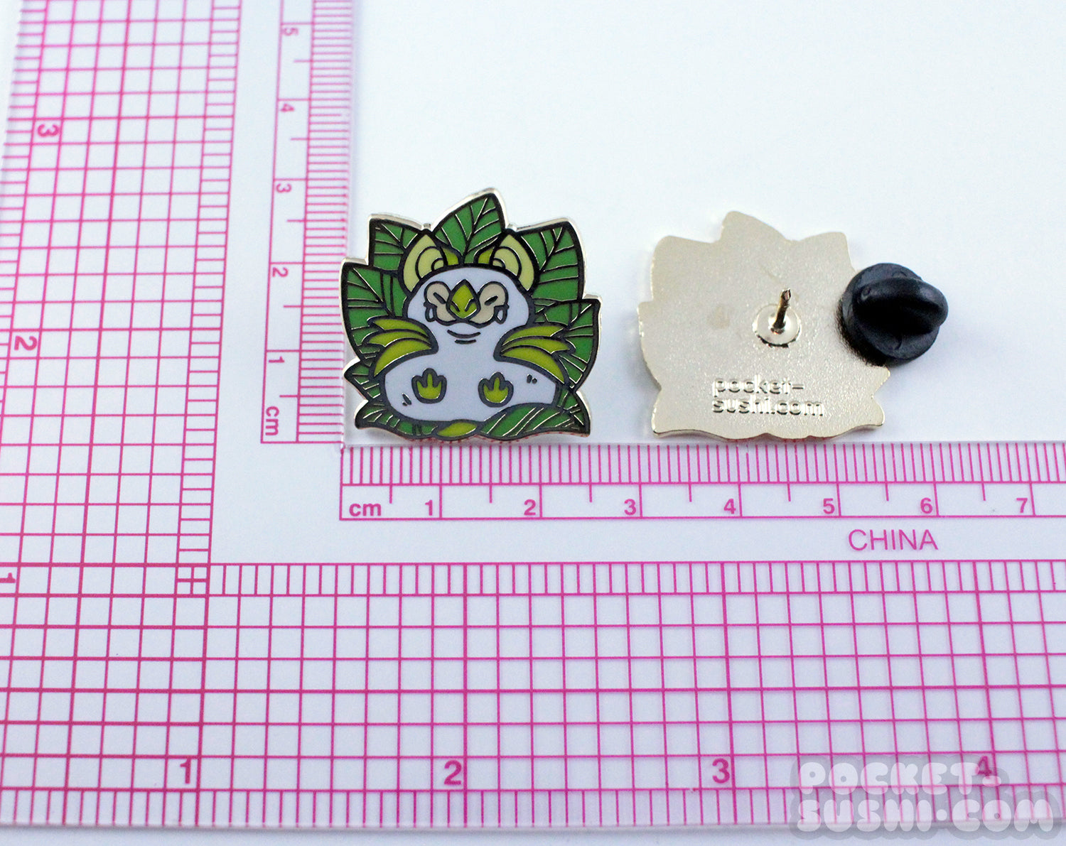 Honduran White Bat Enamel Pin