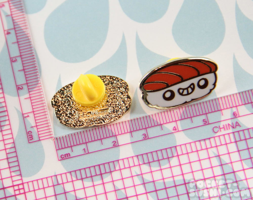 Smiling Sushi Hard Enamel Pin