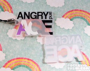 ANGRY and ACE Acrylic Charm