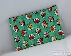 Sushi Cats Pencil & Cosmetics Bag