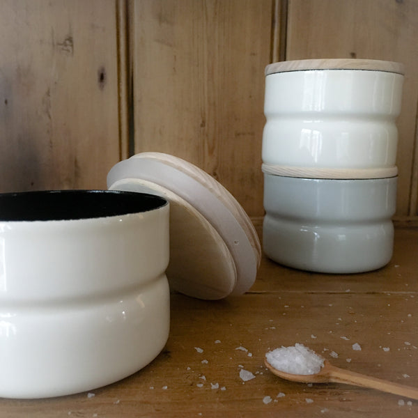 Enamel Kitchen Containers