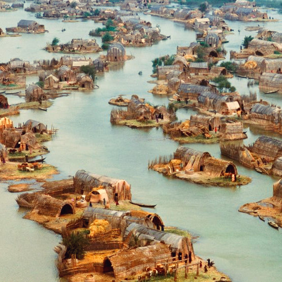 Mudhif Floating Basket Houses of Iraq