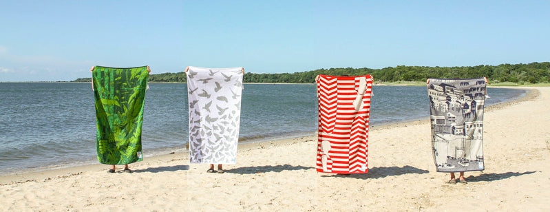Papat Towels Beach Collection. Made in USA.