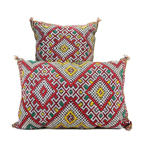 Pair of Vintage Moroccan Pillows
