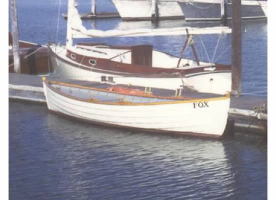 The FOX rowboat replica 1975
