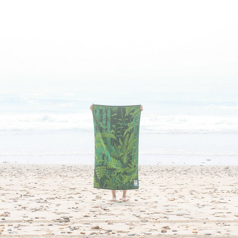 Papat Beach Towel Jungle. Made in USA