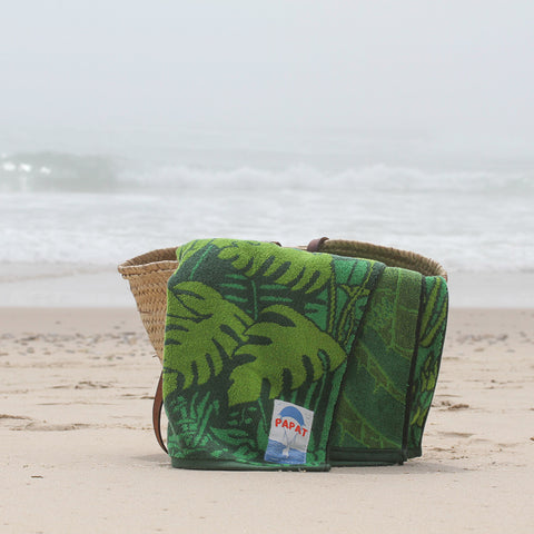 Papat Beach Towel Jungle. Made in USA.