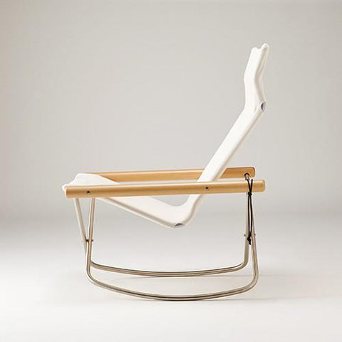 Ny Chair X Rocking White