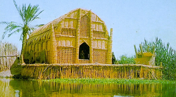 The Floating Basket Houses of Iraq Ma'dan Mudhif