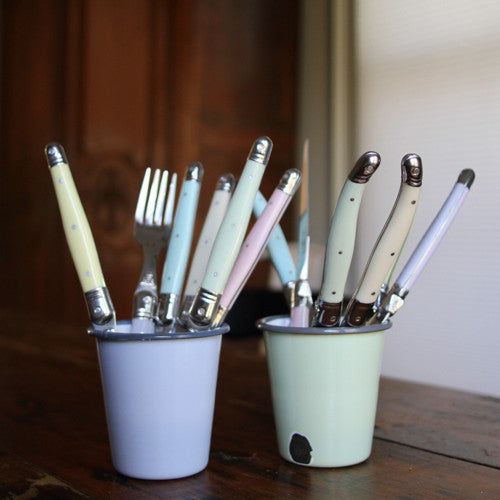 12 Piece Flatware Set - Pastel