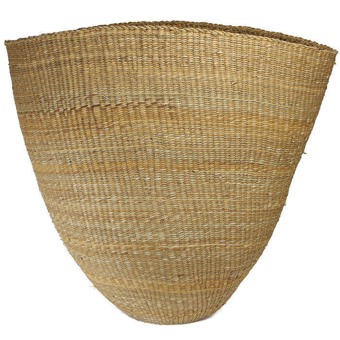 Oversized Fluted Basket