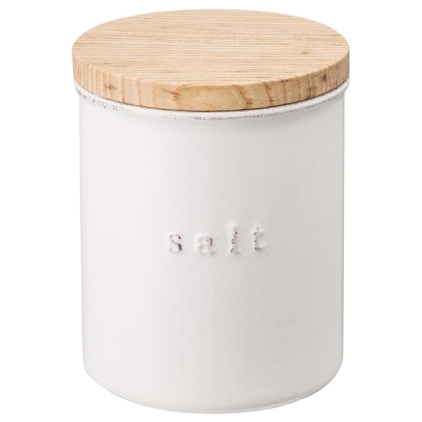 Ceramic Salt Canister