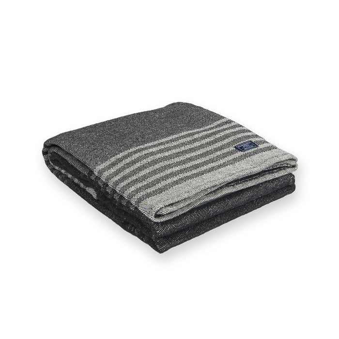 Cotton Beach Throw - Charcoal