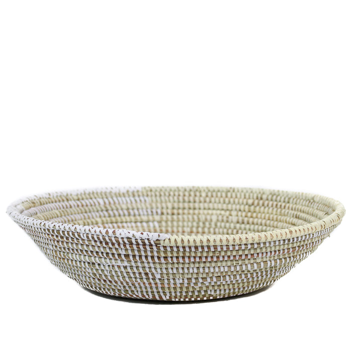 Cream & White Table Basket