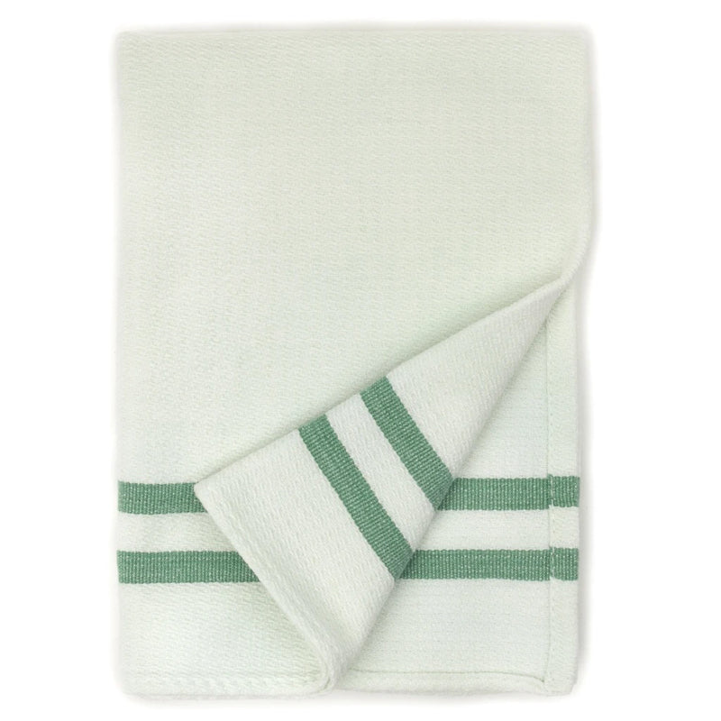 Dish Towel - Sage Stripes