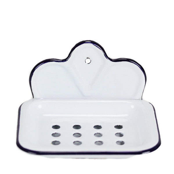 Enamel Soap Dish - Wall Mounted