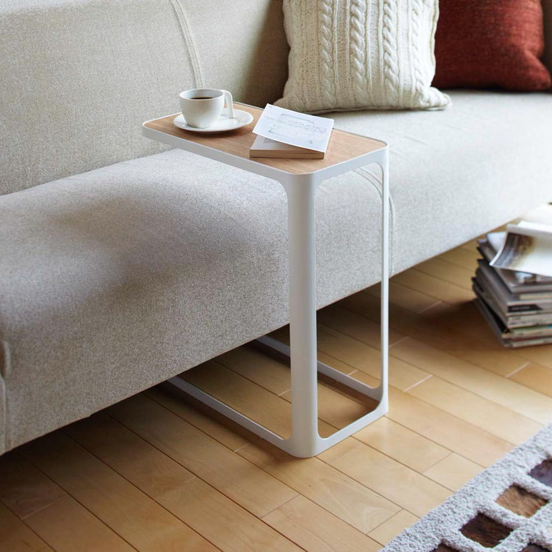 Frame Accent Table White
