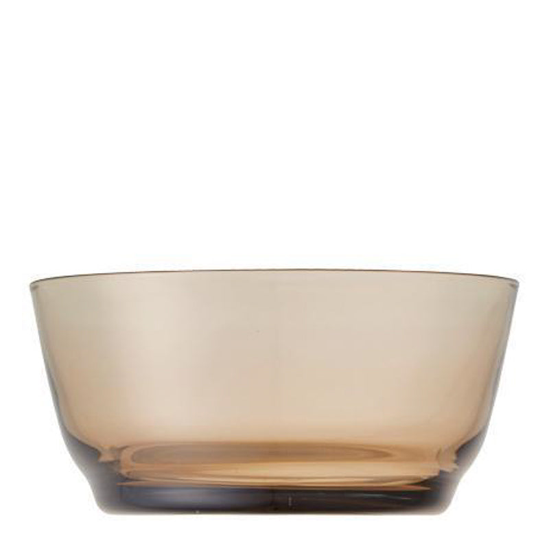 Glass Bowl - Brown