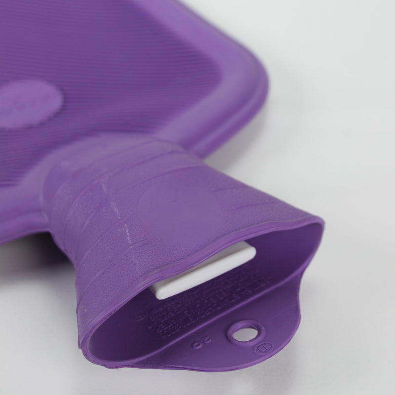 Hot Water Bottle - Purple