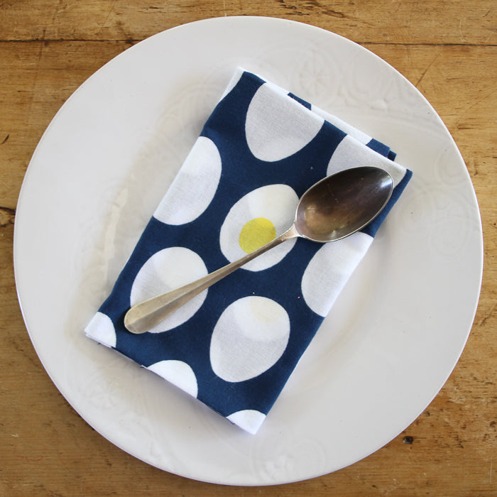 Japanese Dish Towel - Hard Boiled Eggs
