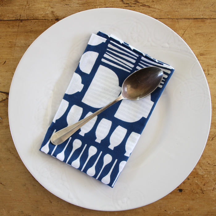 Japanese Dish Towel - Navy Kitchenware