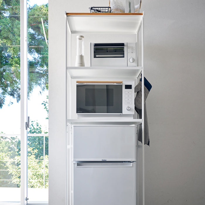 Kitchen Appliance Storage Rack