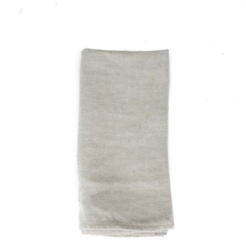 Large Washed Linen Napkin - Natural