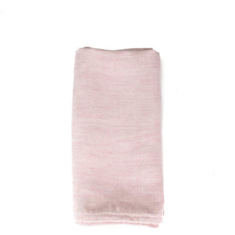Large Washed Linen Napkin - Rose