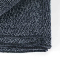 Linen Terry Towel - black graphite