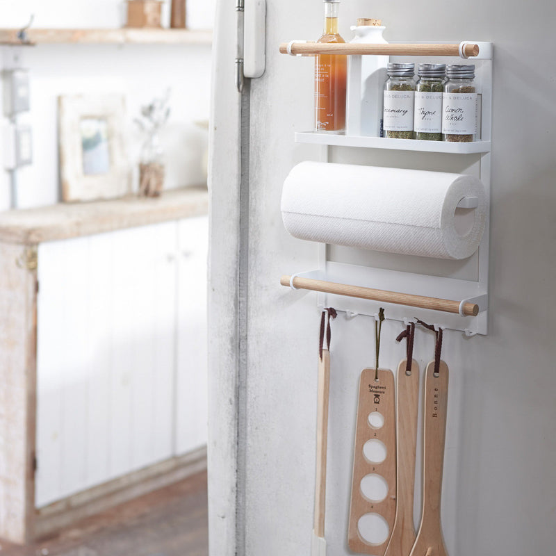 Magnetic Kitchen Organization Rack