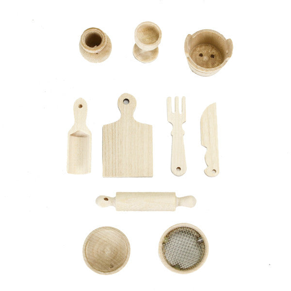 Miniature Cooking Supplies