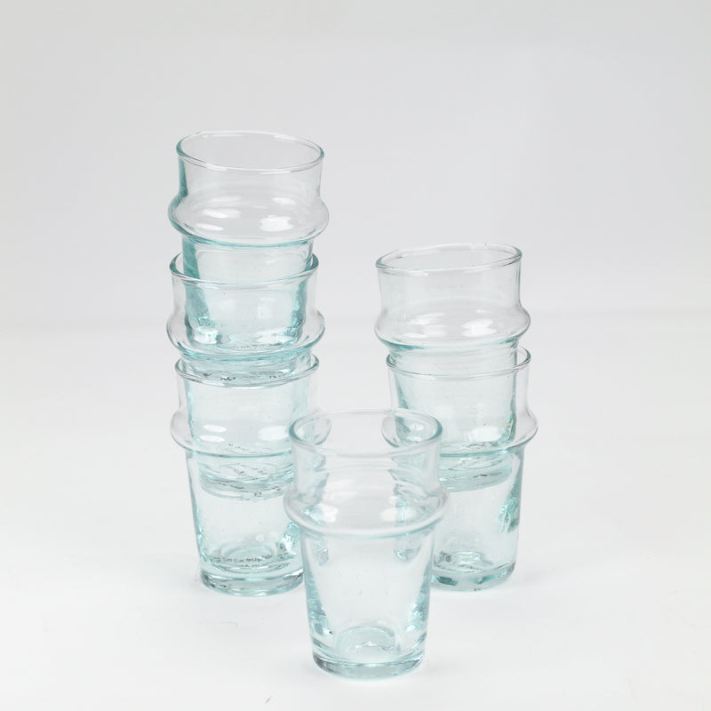 Morroccan Glass - Small, Set of 6