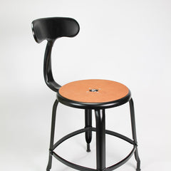Nicolle Counter Stool - Matte Black
