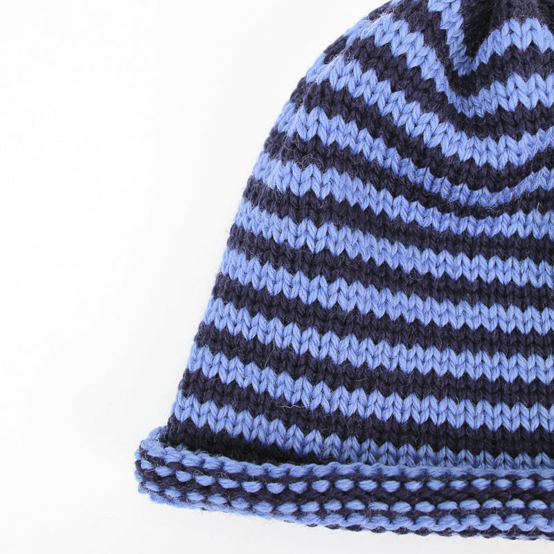 Papat Castine Hat - Blue Stripes