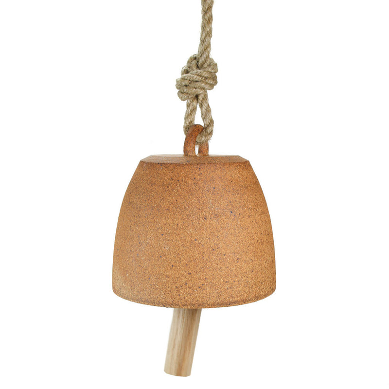 Raw Stoneware Bell - Small