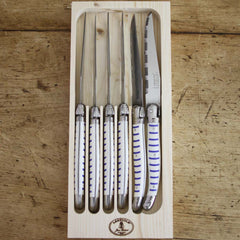 Set of 6 Steak Knives - Mariniere