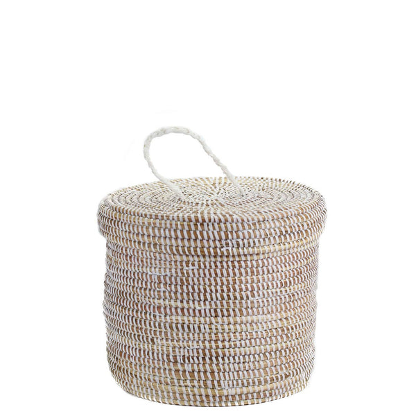 Small Woven Hamper Basket