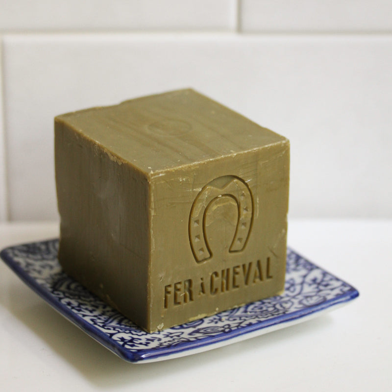 Square Soap Dish - Block Print