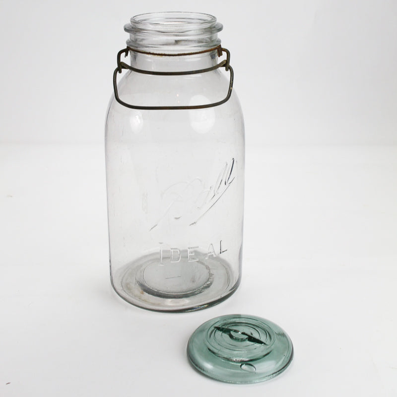 Vintage Large Ball Storage Jar