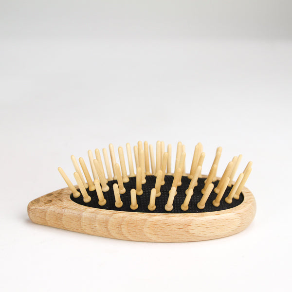 Wooden Hedgehog Hairbrush
