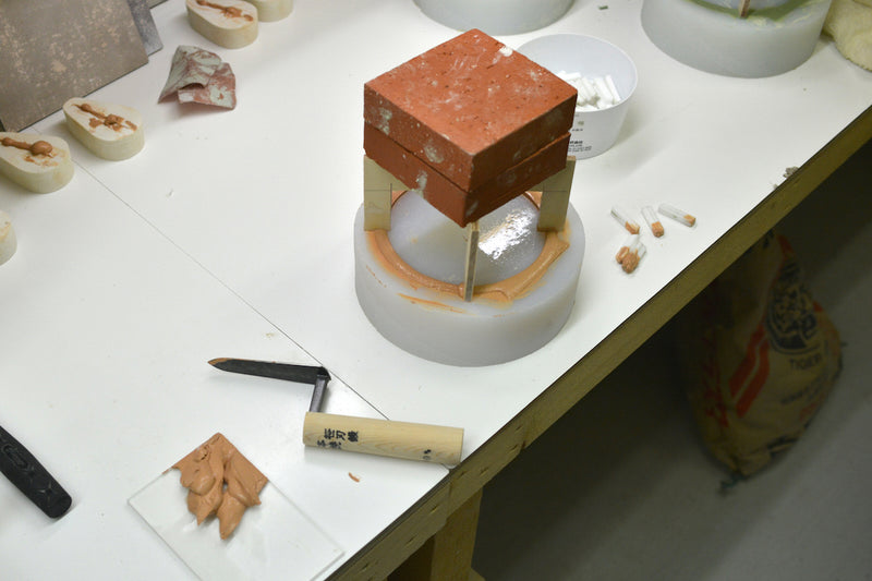 Ceramic Desk Clock