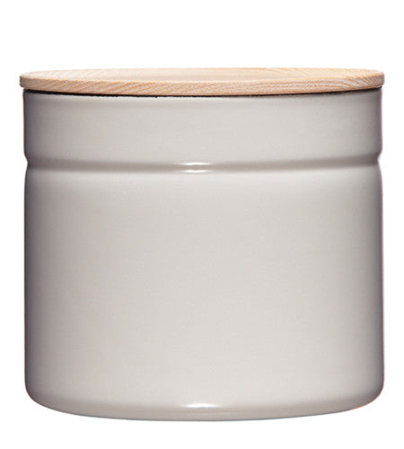 Enamel Canister - Grey - 1390ml