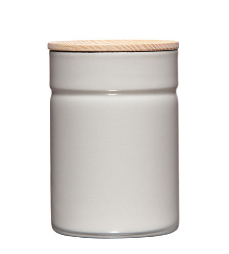 Enamel Canister - Grey - 525ml