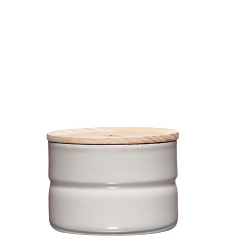 Enamel Canister - Grey - 230ml