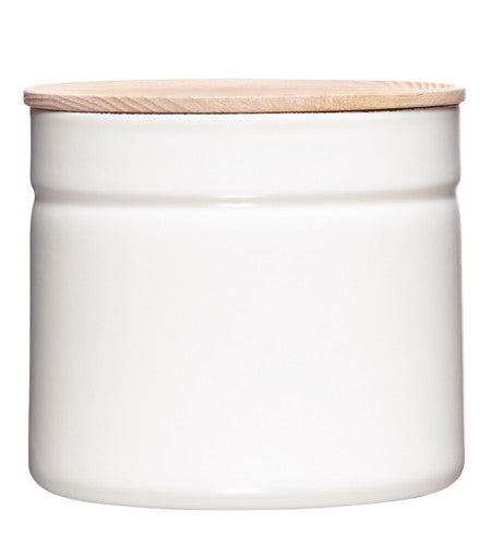 Enamel Canister - White - 1390ml