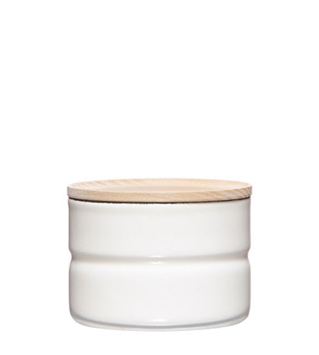 Enamel Canister - White - 230ml