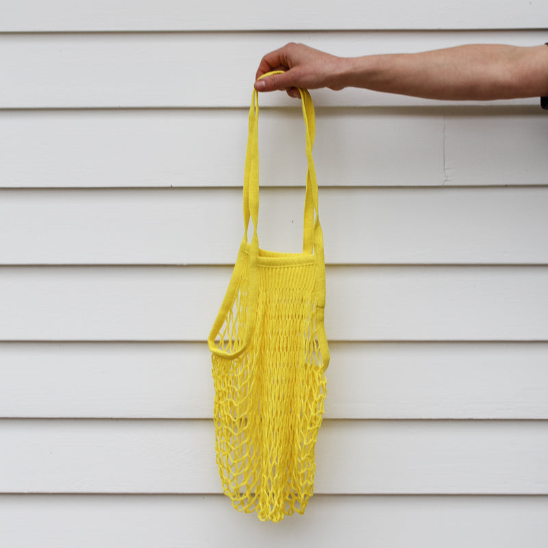 French Grocery Bag - Yellow