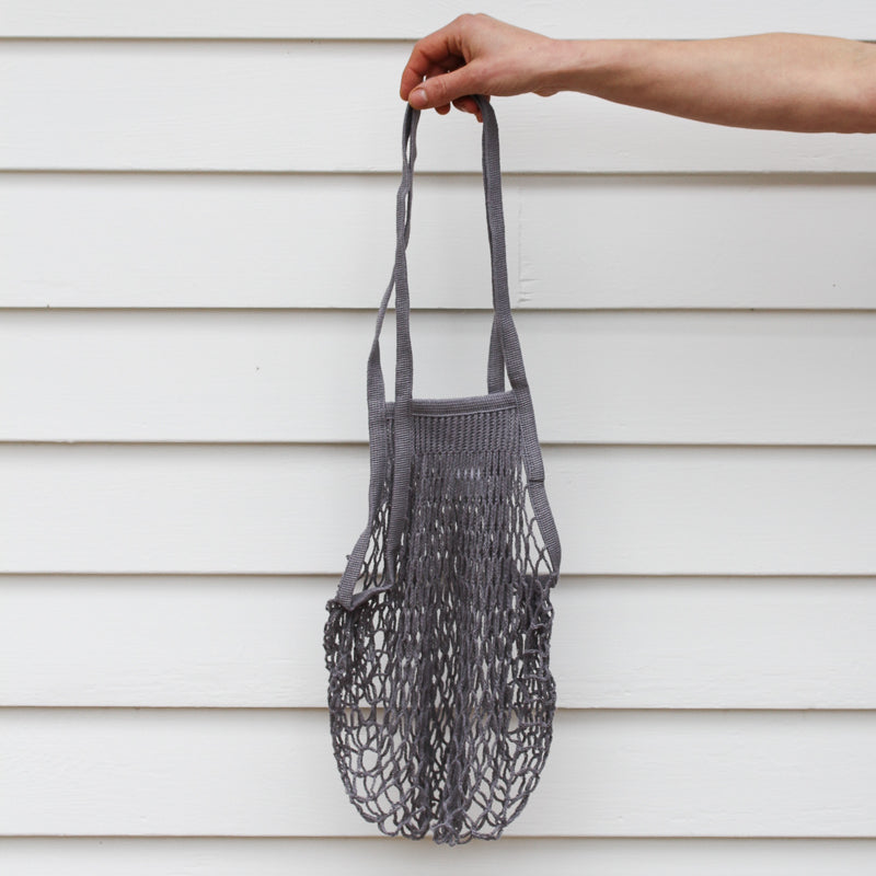 French Grocery Bag - Grey