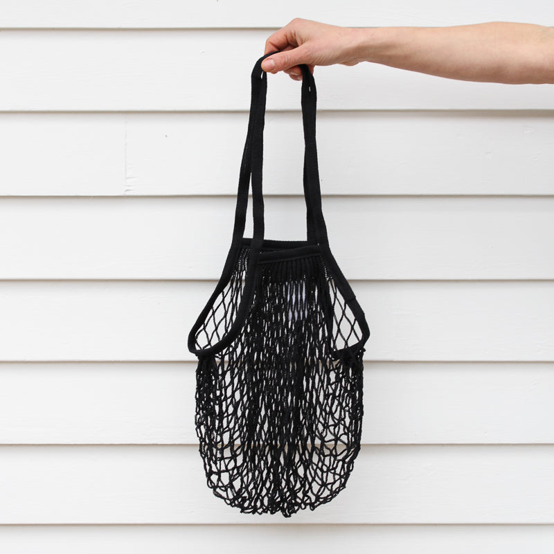 French Grocery Bag - Black